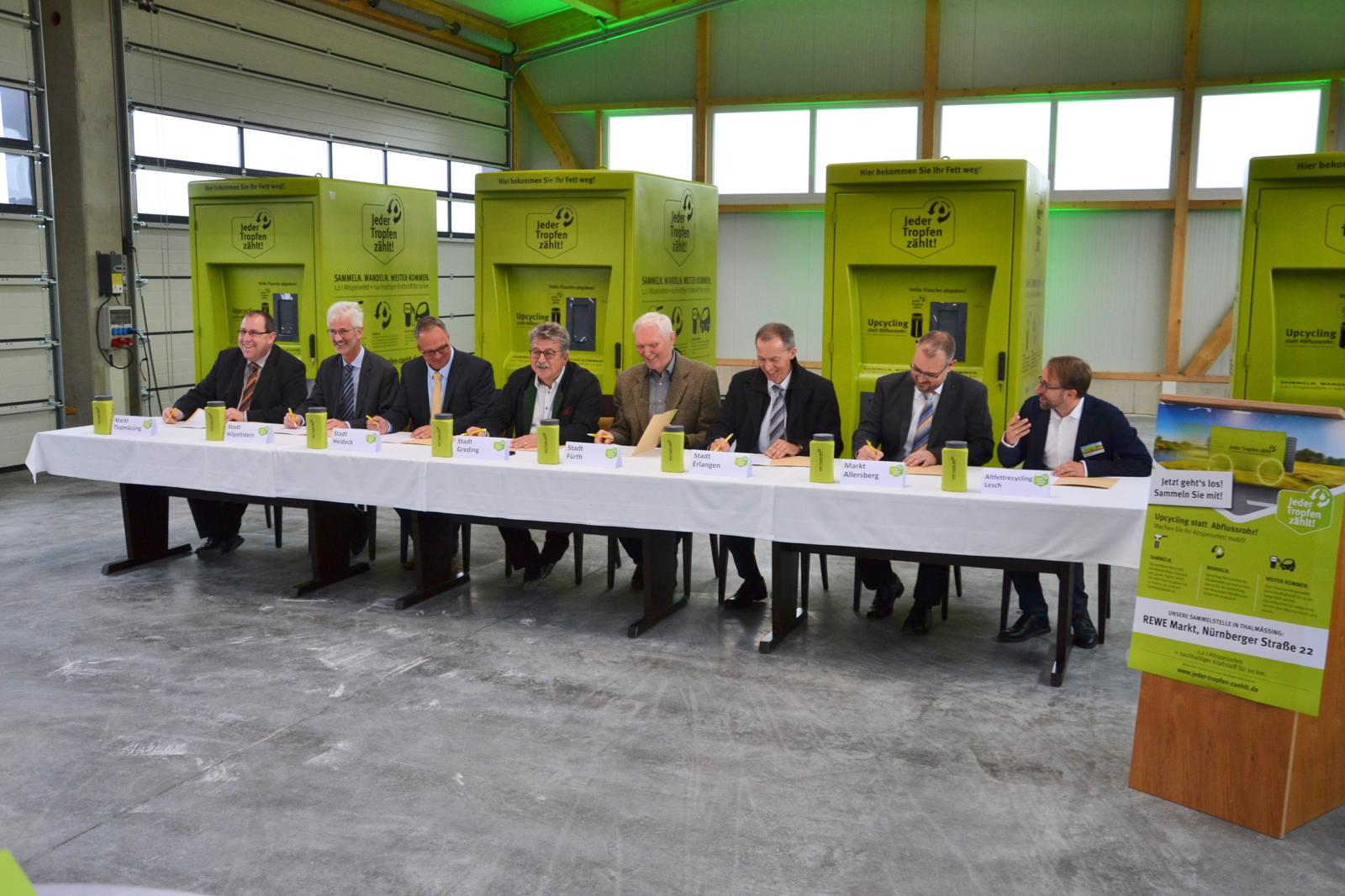 Unterzeichnung der Kooperationsverträge
